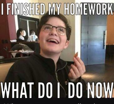 I Finished My Homework