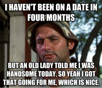 I Haven't Been On A Date