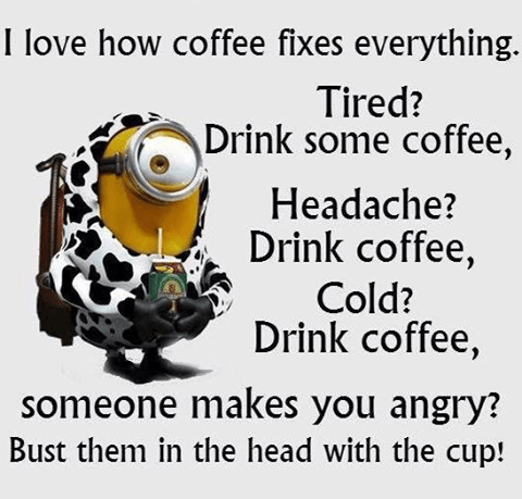 I Love Coffee Fixes