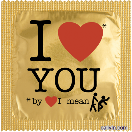 I Love You By Love I Mean
