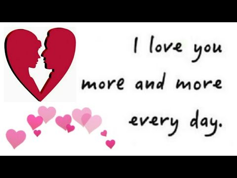 I Love You More And More