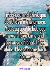 I Miss You And Think You