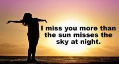 I Miss You More