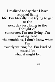 I Realize Today
