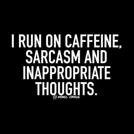 I Run On Caffeine