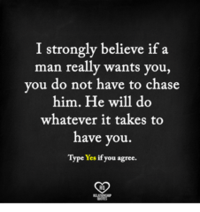 I Strongly Believe