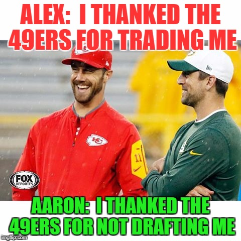 I Thanked The 49ers