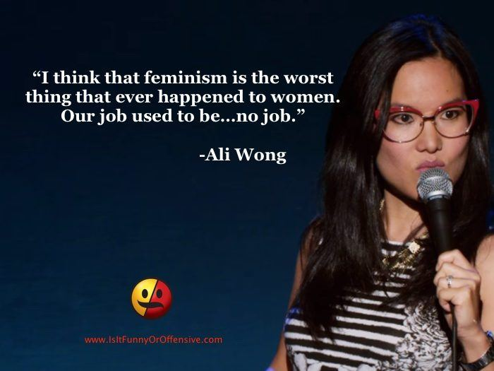 I Think That Feminism Is The Worst