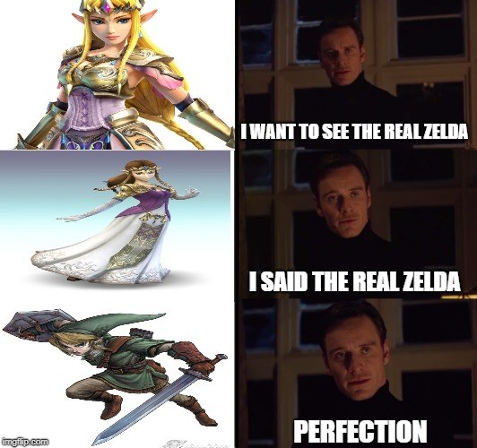 I Want To See The Real Zelda
