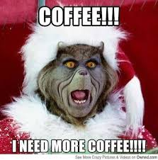 I need more coffee!