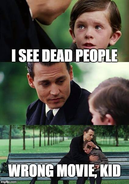I sea dead people
