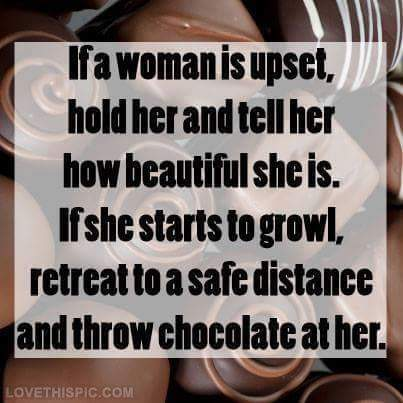 If A Woman Is Upset