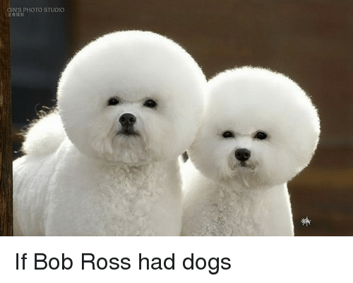 If Bob Ross Had Dogs