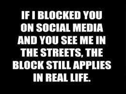 If I Blocked You