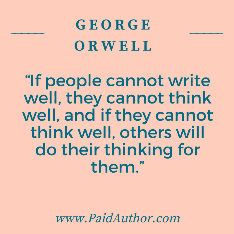 If People Cannot Write