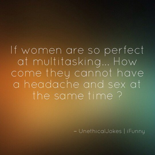 If Women Are So Perfect