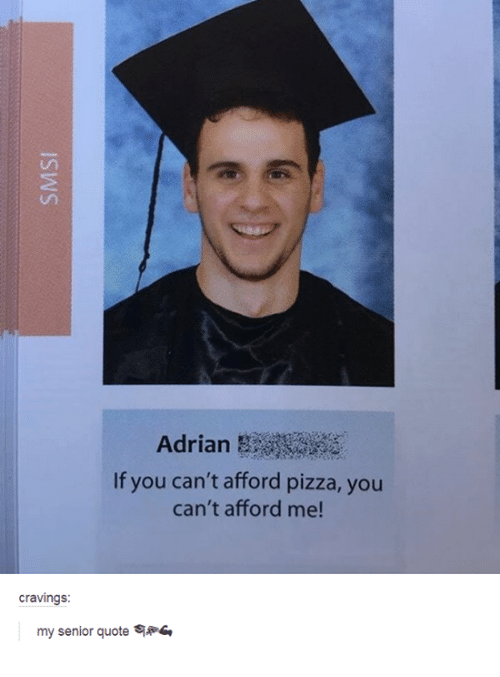 If You Can't Afford Pizza