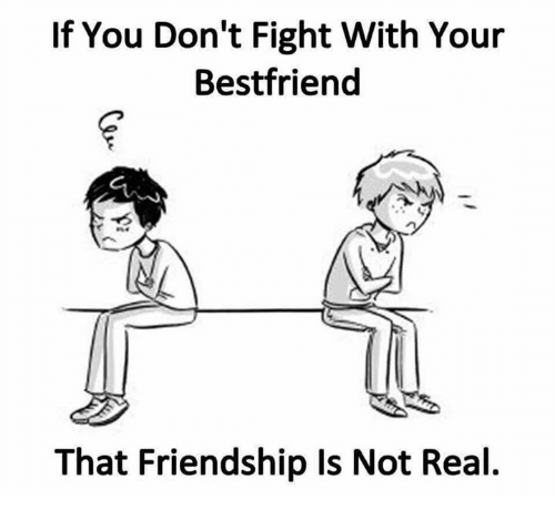 If You Don't Fight With Your Bestfriend