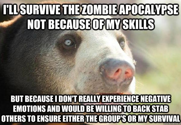 I'll Survive The Zombie Apocalypse
