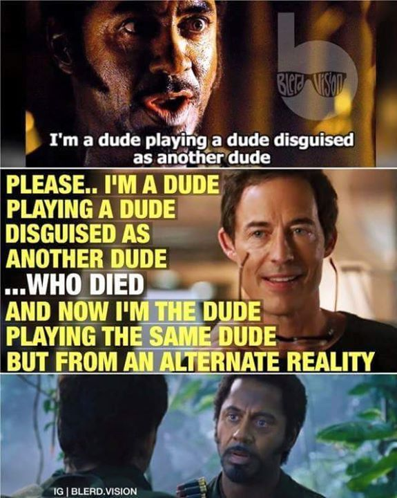 I'm A Dude Playing A Dude