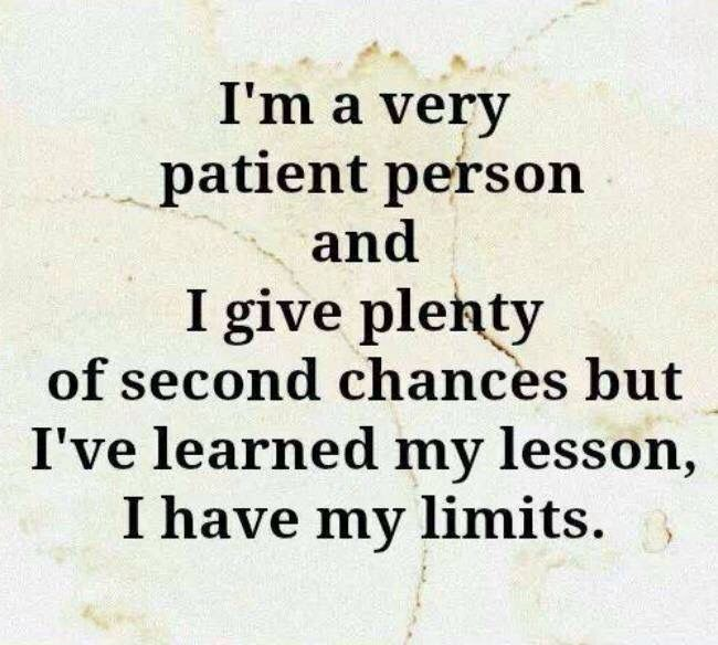 I'm Very Patient Person