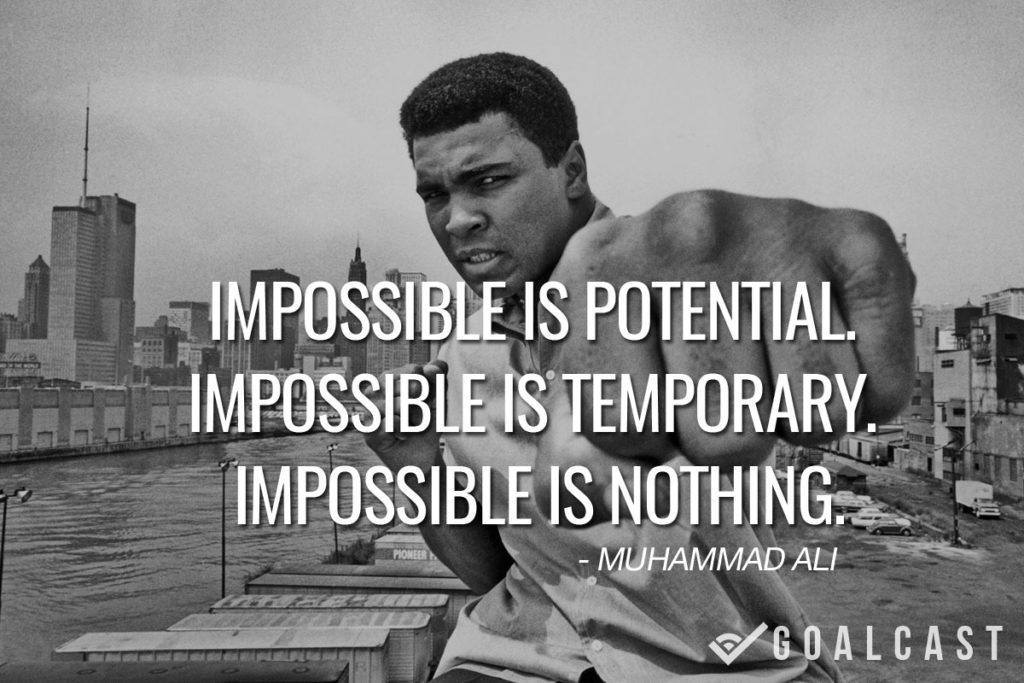 Impossible Is Potential