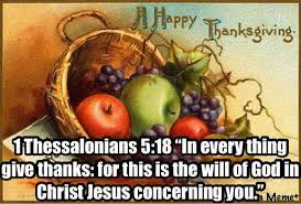 In Every Thing Give Thanks