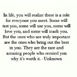 In Life You Will Realize