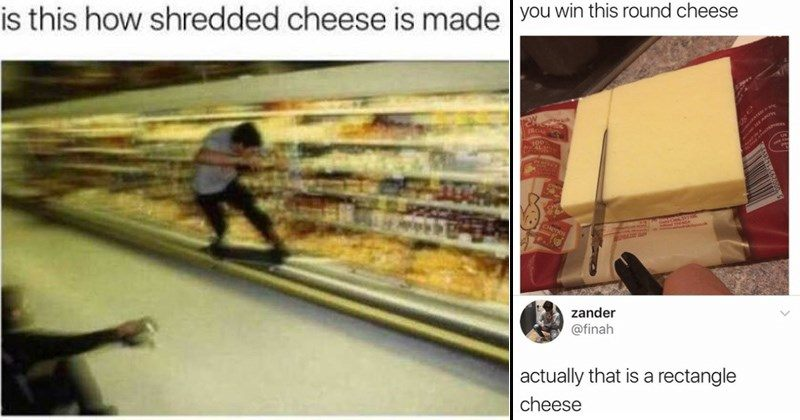 Is This How Shredded Cheese
