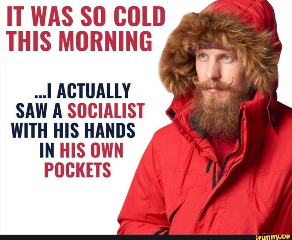 It was so cold this morning
