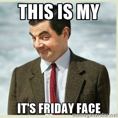 It's Friday Face
