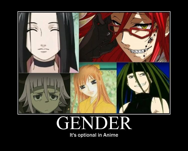 It's Optional In Anime