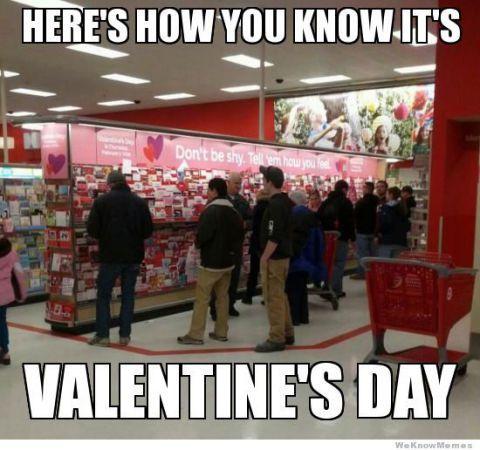 It's Valentine's Day