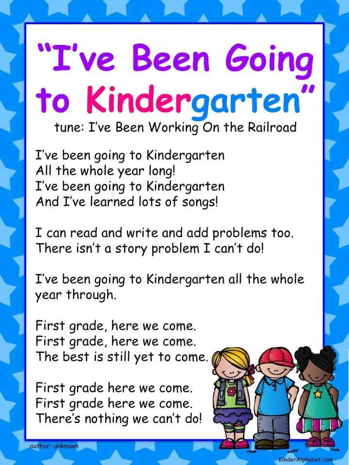 I've Been Going To Kindergarten
