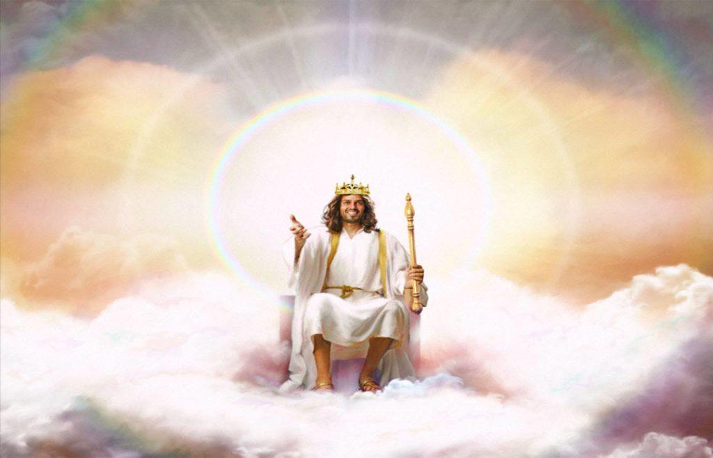 Jesus King Throne