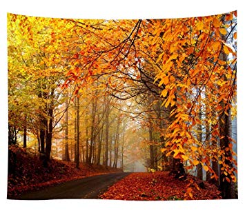 Landscape Tapestry Autumn Season