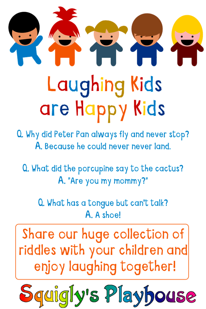 Laughing Kids Are Happy Kids