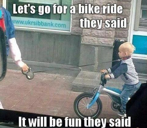 Let's Go For A Bike