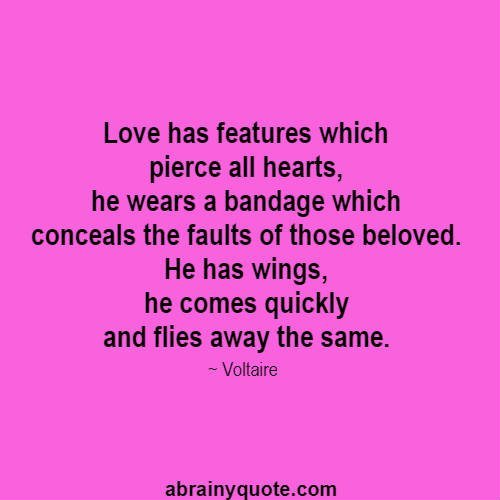 Love Has Features