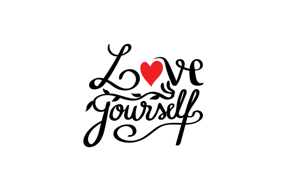 Love Yourself Text