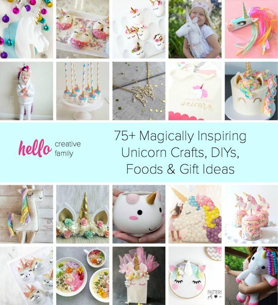 Magically Inspiring Unicorn Crafts