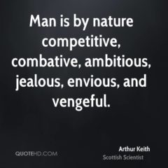 Man Is By Nature Competitive