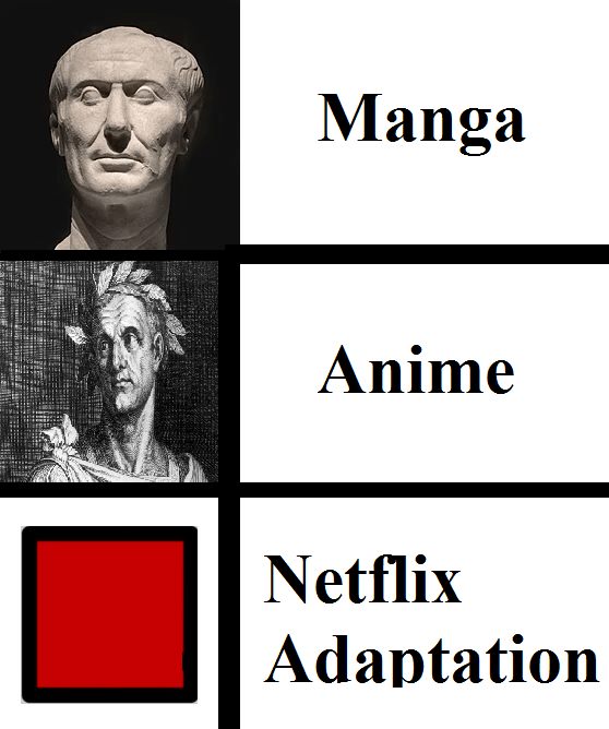 Manga Anime Netflix Adaptation