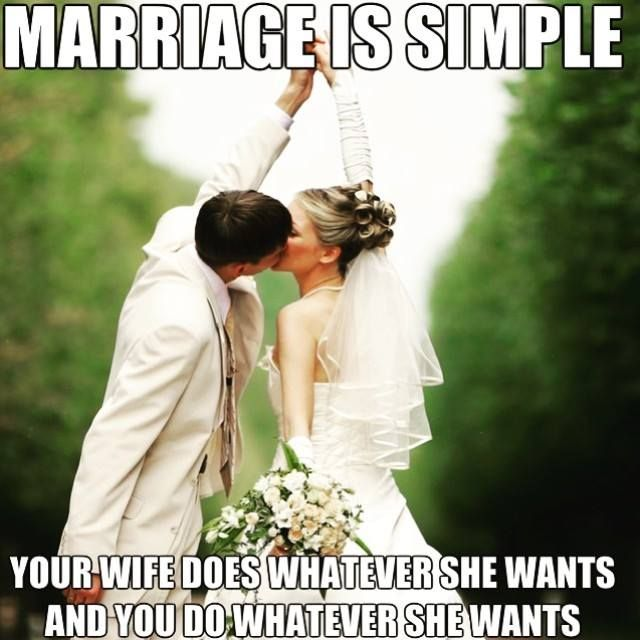 Marriage Is Simple