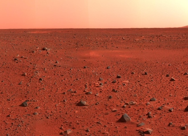 Mars Red Surface