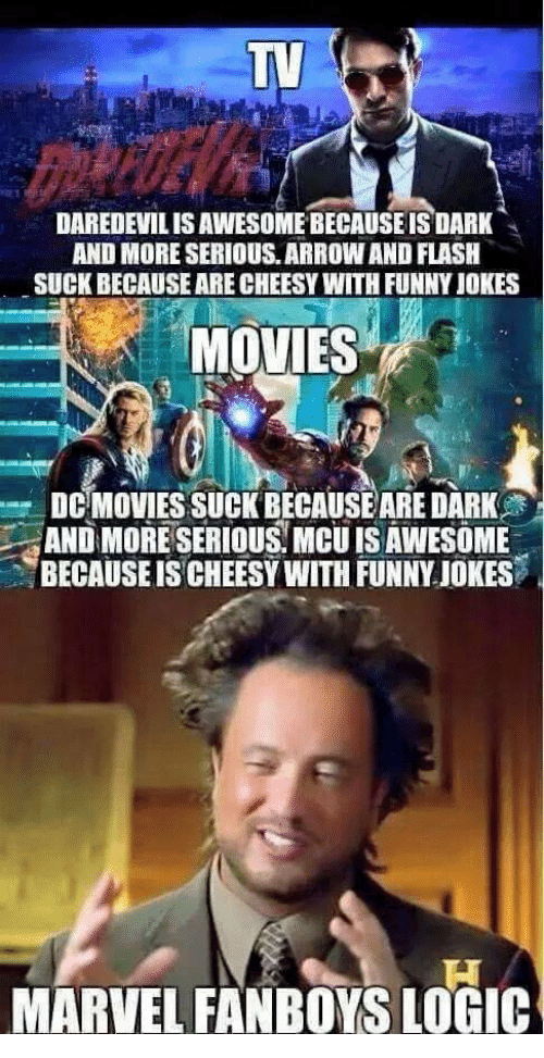 Marvel Fanboys Logic
