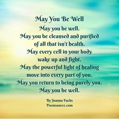 May you Be Well