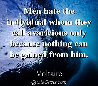 Men Hate The Individual