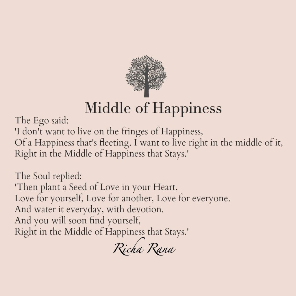 Middle of Happiness