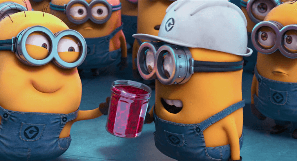 Minions Were Given Jelly